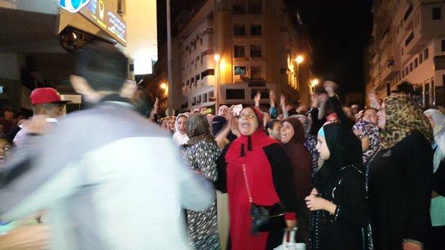 عودة الاحتجاجات ضد «أمانديس» بطنجة والأمن يحرر محاضر قضائية