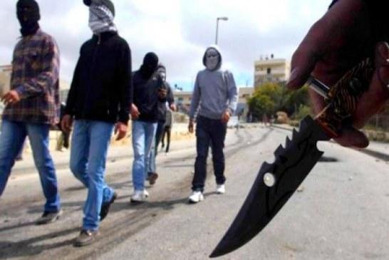 عصابة تواجه أمنيين بأربعاء الغرب بالسيوف وقنينات «الكريموجين»