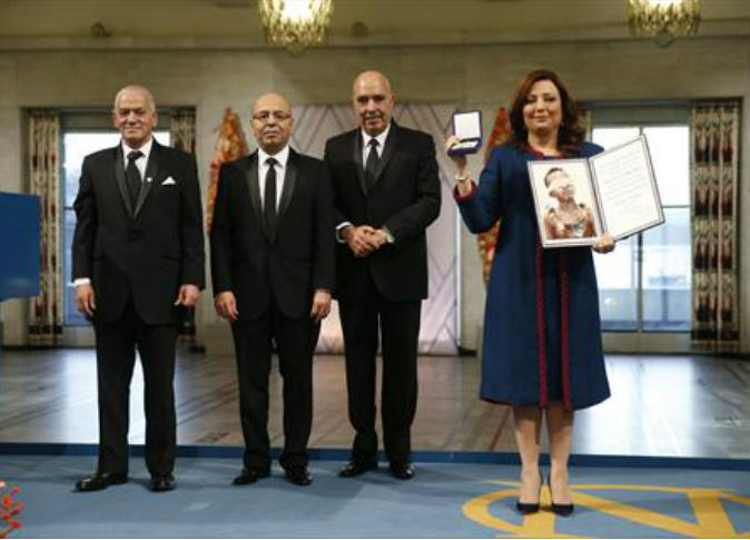 رباعي الحوار التونسي يتسلم جائزة نوبل للسلام وسط إجراءات مشددة