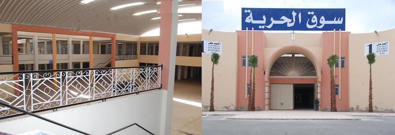 أزمة سوق كلف الملايير تتفاقم بعد تأخر بلدية إنزكان في افتتاحه