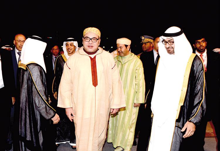 الملك يحضر احتفالات الإمارات العربية المتحدة بيومها الوطني في أبوظبي