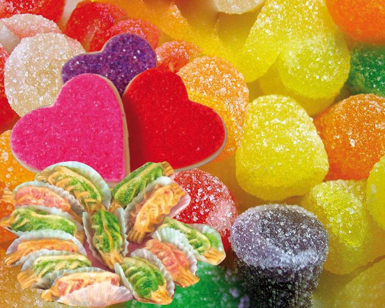 الحلويات الملونة سم يهدد صحة الأطفال المغاربة