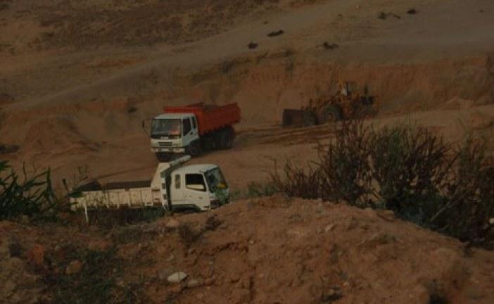 الشرطة القضائية بسطات تحقق في ملف استغلال مقلع بإقليم برشيد