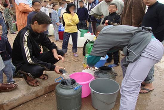 مواطنون يفتقدون مياه الشرب بجماعة الوزير عبو بتاونات