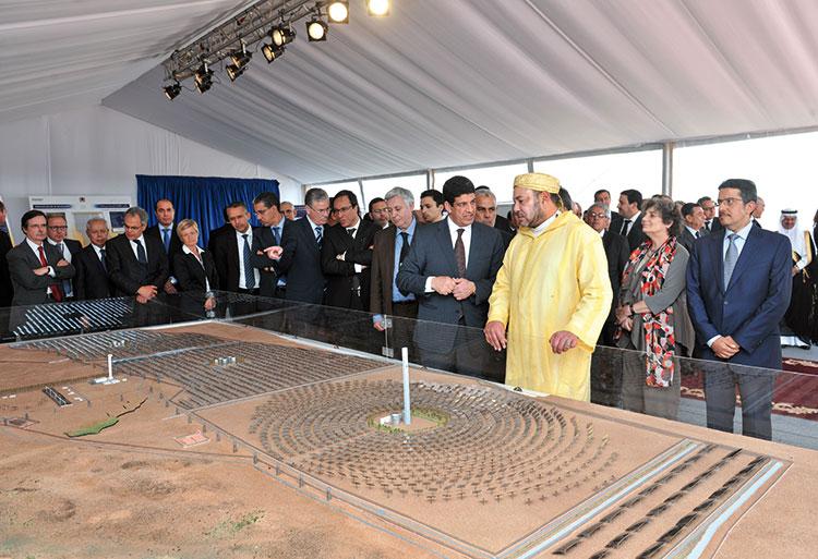 الملك يوسع صلاحيات الوكالة المغربية للطاقة الشمسية