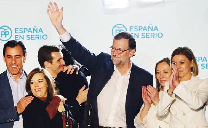 الانتخابات التشريعية تعيد رسم الخريطة السياسة بإسبانيا وتنهي عهد الثنائية الحزبية