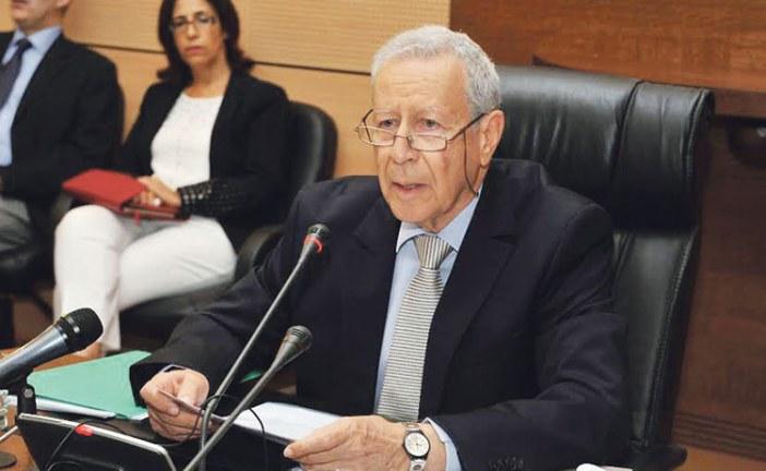 رشيد بالمختار وزير التربية الوطنية
