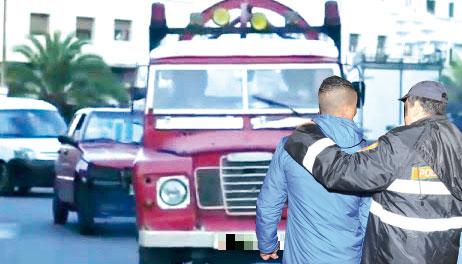 مطاردة هوليودية لتوقيف سائق «ديبناج» تسبب في مصرع خليلته بعد دهسها بشكل بشع