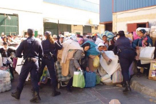 احتجاجات شعبية واحتقان بالمضيق والفنيدق بعد وفاة ضحية ثالثة بباب سبتة المحتلة
