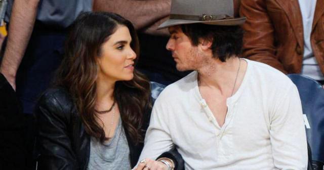 الممثلة الأمريكية نيكي ريد رفقة زوجها النجم الأمريكي إيان سومرهالدر