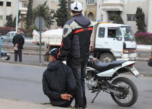 درك البيضاء يحقق مع شخصين في ملف (خردة) دراجات نارية للشرطة