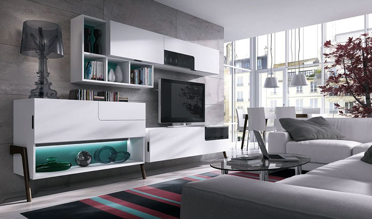 تصاميم غرفة الجلوس من «Carré Marruecos»