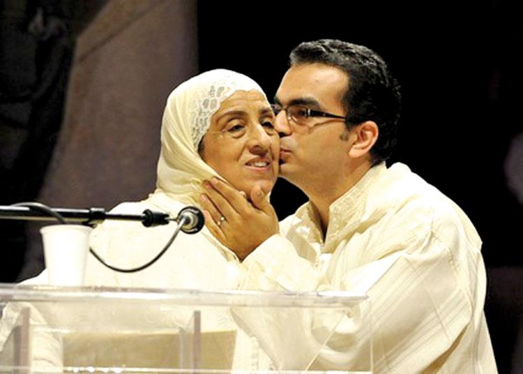 مليكة زكري أرملة المفكر الجابري التي قضت حياتها في رقن كتابات زوجها