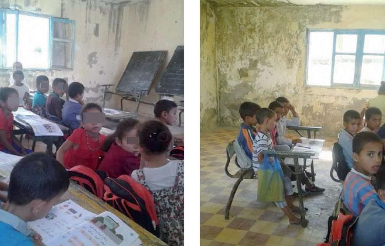 سكان يكشفون تفاصيل صادمة عن مدرسة ابتدائية بضواحي وزان