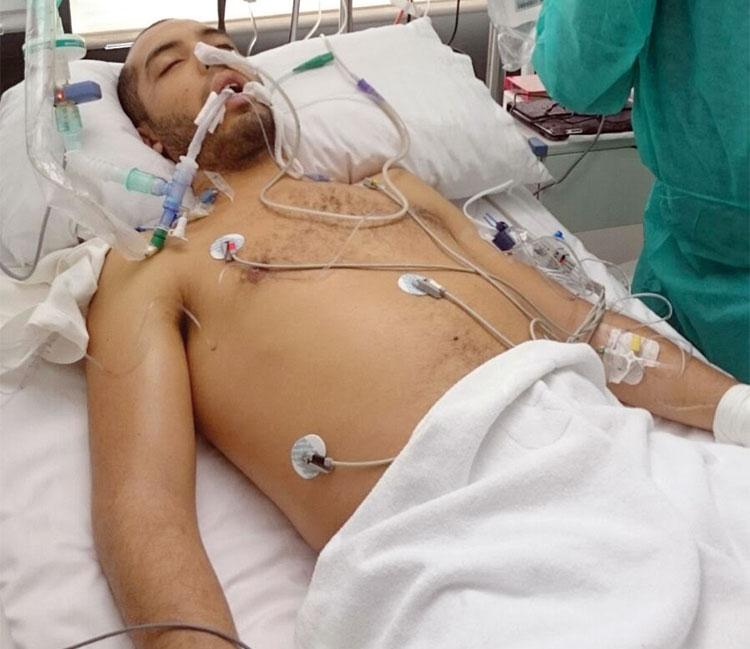 نكسة تنفسية مفاجئة تدخل طالبا مغربيا في إسبانيا قسم العناية المركزة