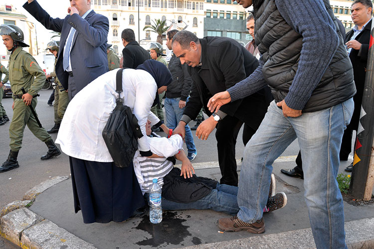الداخلية تتهم «الجماعة» و«النهج» بالركوب على مطالب الأساتذة المتدربين ودفعهم إلى المواجهة مع الأمن