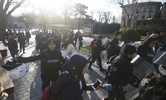 عاجل :  انفجار قوي يهز وسط اسطنبول ويخلف قتلى