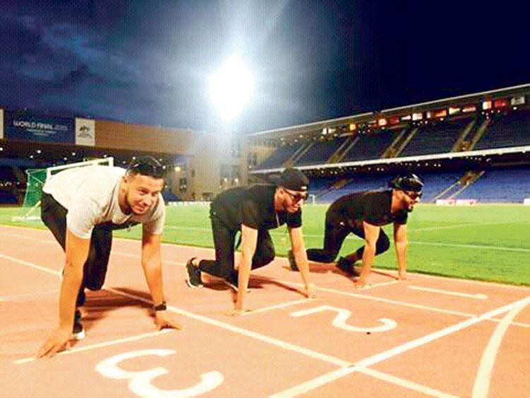 سباق الألف ميل يبدأ بخطوة واحدة : شعار المجموعة الغنائية «فناير»