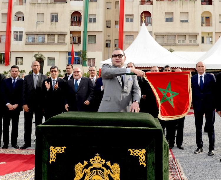 الملك يشرف على اطلاق مشروع لتحويل الدارالبيضاء إلى مدينة ذكية