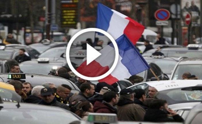 احتجاجات في فرنسا والأمن يتدخل بقوة