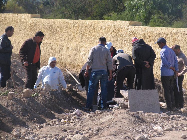 أمن سطات يحقق في نبش قبر ميت دفن حديثا