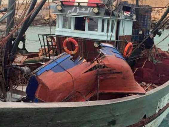 فقدان 3 بحارة في اصطدام مركبين للصيد بآسفي وسفينة الإنقاذ معطلة