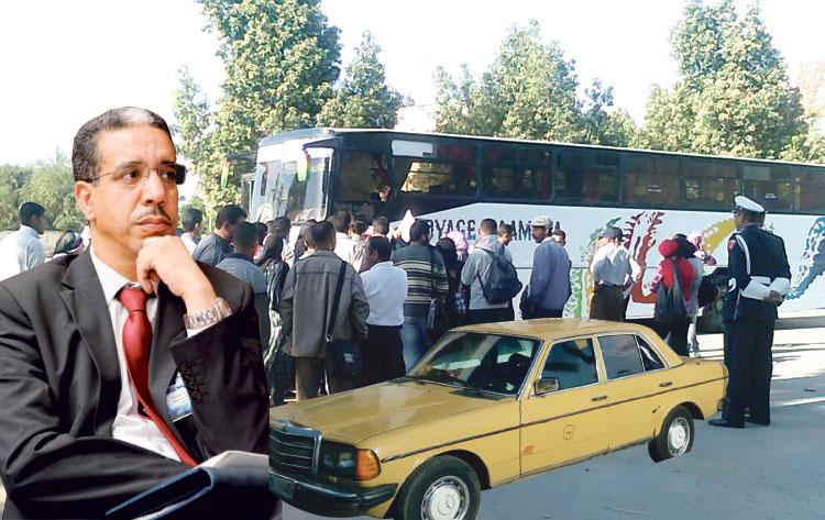 الأخبار تكشف عن حقائق صادمة حول فوضى النقل بمدينة وزير النقل
