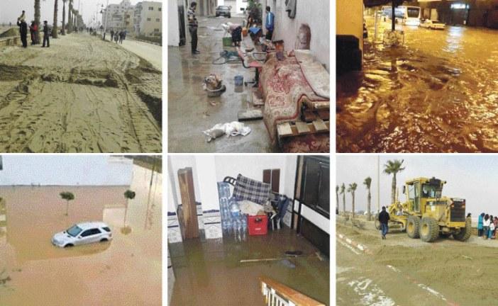 طوفان تطوان.. خسائر جسيمة والسكان متذمرون بسبب هشاشة البنية التحتية وغياب المساعدة