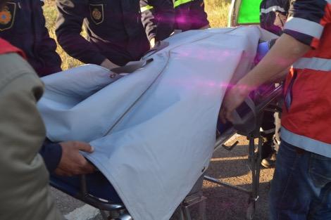 احتجاجات ضد ارتفاع ضحايا حوادث السير بضواحي الخميسات