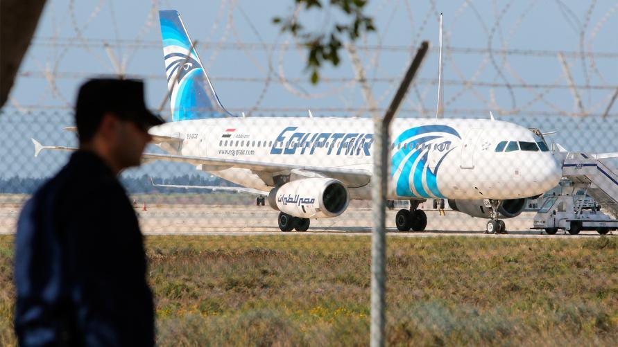 اختطاف طائرة تابعة لشركة مصر للطيران
