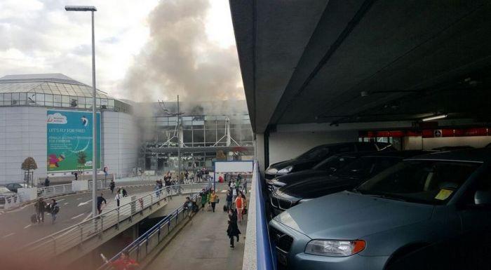 قتلى وعشرات المصابين في تفجيرات هزت مطار بروكسيل الدولي