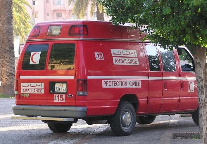 سيارة إسعاف تقتل طفلين بأزرو ومراهق يدهس تلميذتين بفاس بسيارة والده