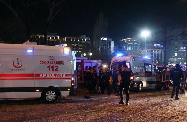 34 قتيلا في تفجير سيارة مفخخة وسط العاصمة التركية