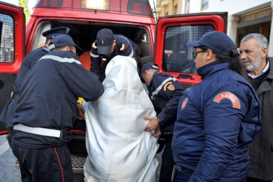 مسنة تحرق ذاتها في شارع محمد الخامس برباط