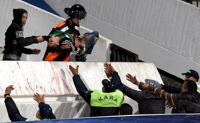 قتلى وعشرات المصابين في مواجهة بين مشجعي فريق الرجاء البيضاوي