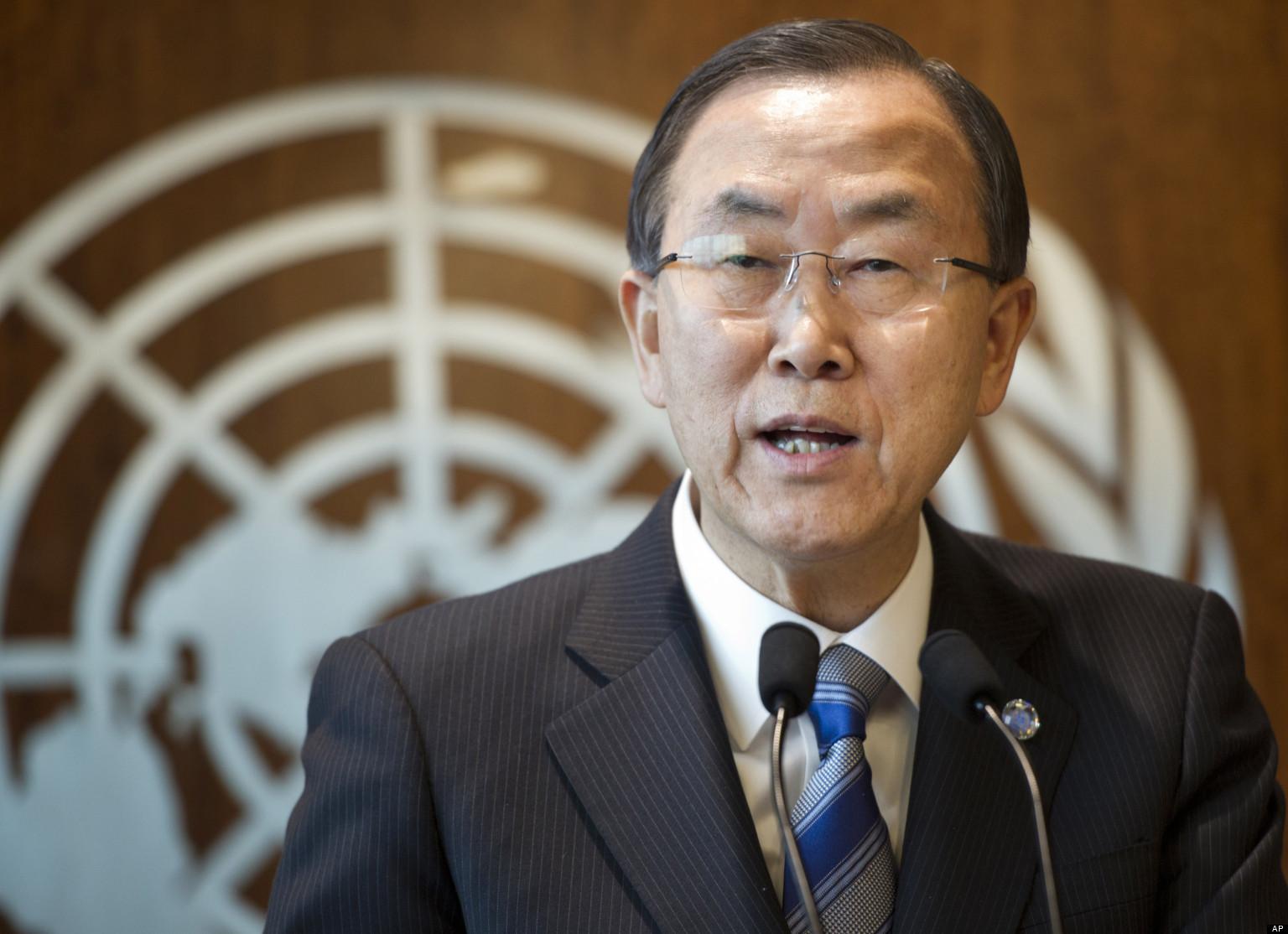 تصريحات «بان كي مون» تعجل بعقد دورة برلمانية استثنائية
