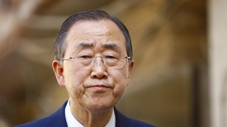 بان كي مون يلغي برنامج زيارته إلى مخيمات «تندوف»