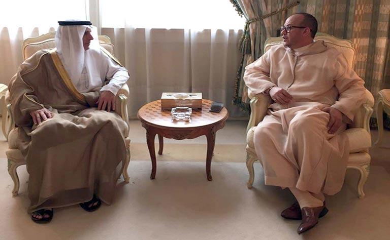 فؤاد عالي الهمة يلتقي وزير الخارجية السعودي في الرياض