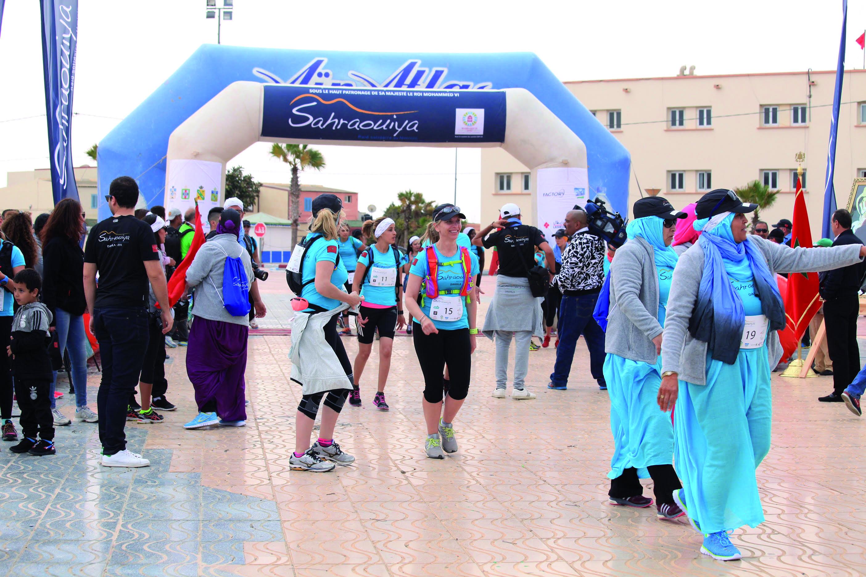 الداخلة تحتضن النسخة الثانية من السباق النسوي «الصحراوية»