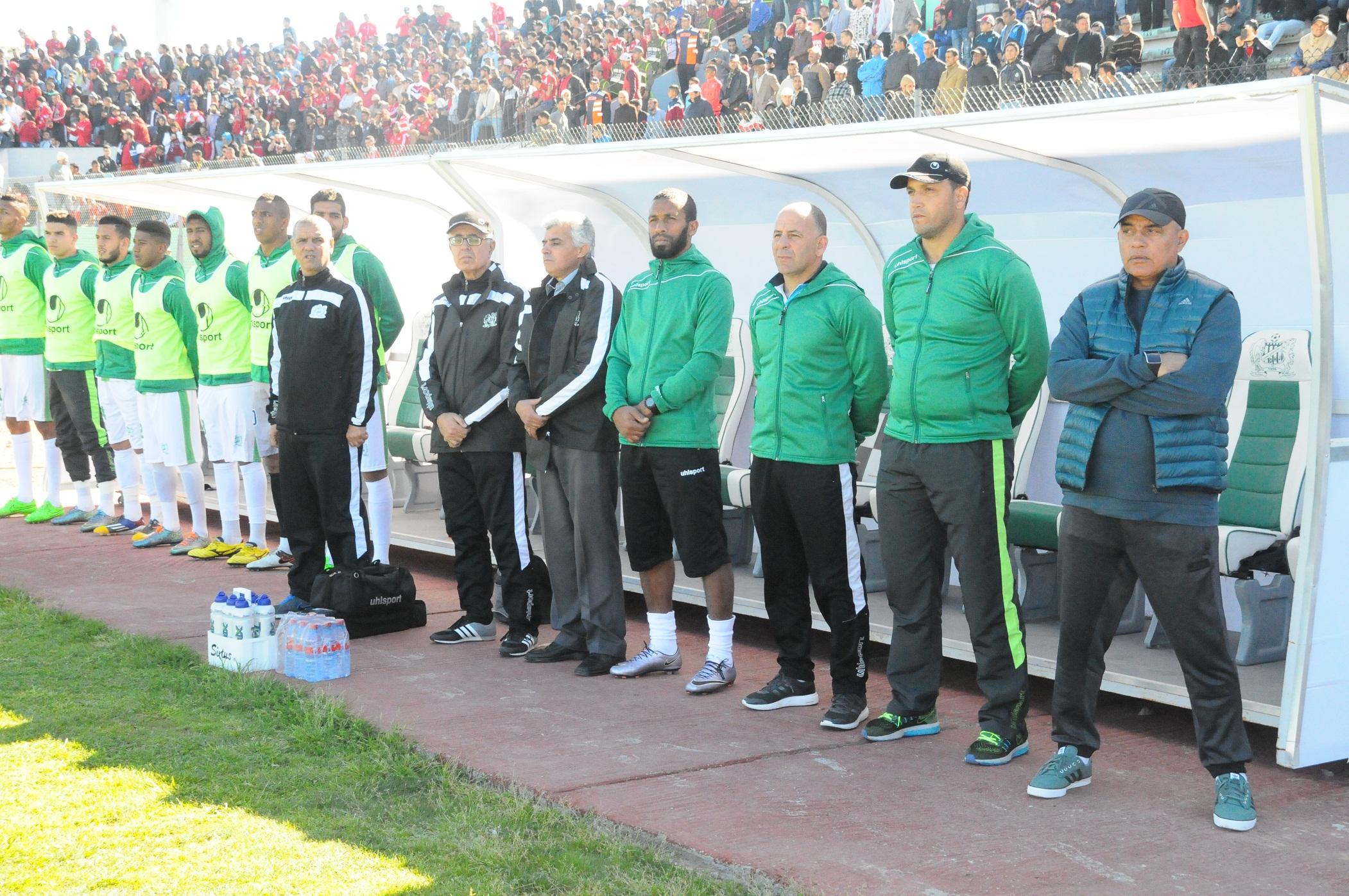طاليب: «المباراة ضد الرجاء تساوي 3 نقاط لا غير»