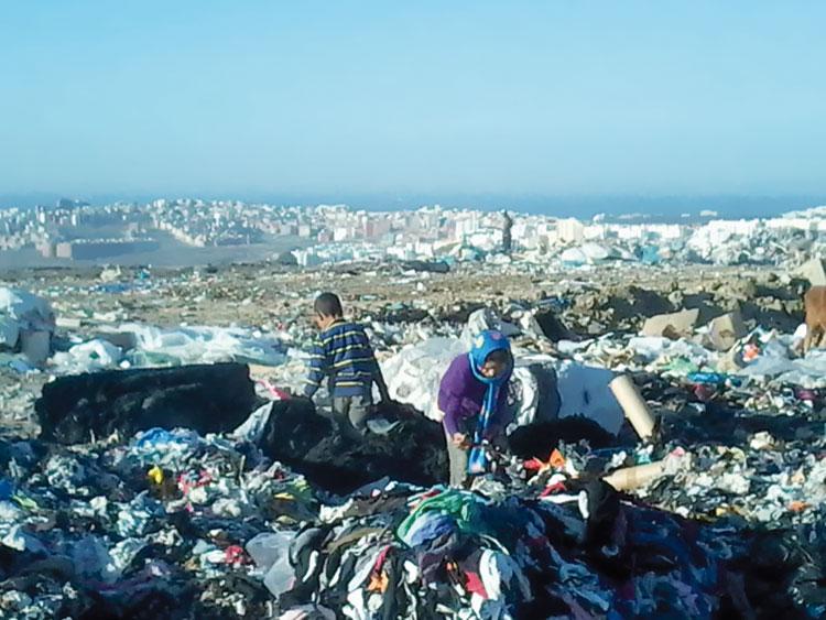 هكذا يستنشق نصف سكان طنجة روائح المطرح البلدي كل صباح