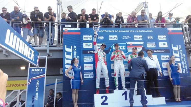 بناني يحل ثانيا في بطولة العالم للسيارات بسلوفاكيا