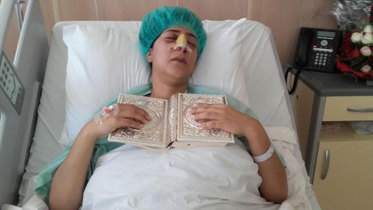 دنيا بوطازوت تخضع لعملية جراحية على مستوى الأنف