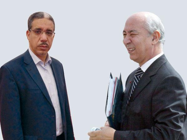جطو يكشف تفشي المقالع العشوائية أمام أنظار الوزير رباح
