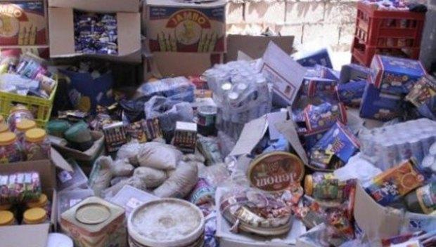 حجز أزيد من 9 أطنان من المواد الغذائية الفاسدة ببرشيد
