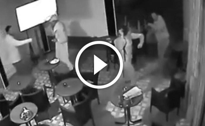 الهجوم على شاب بسيف داخل مقهى في أكادير
