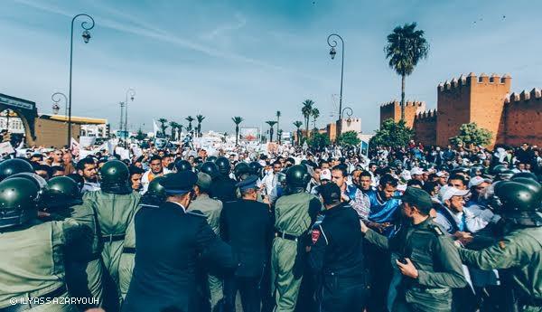 اعتقال 28 أستاذا متدربا بالرباط