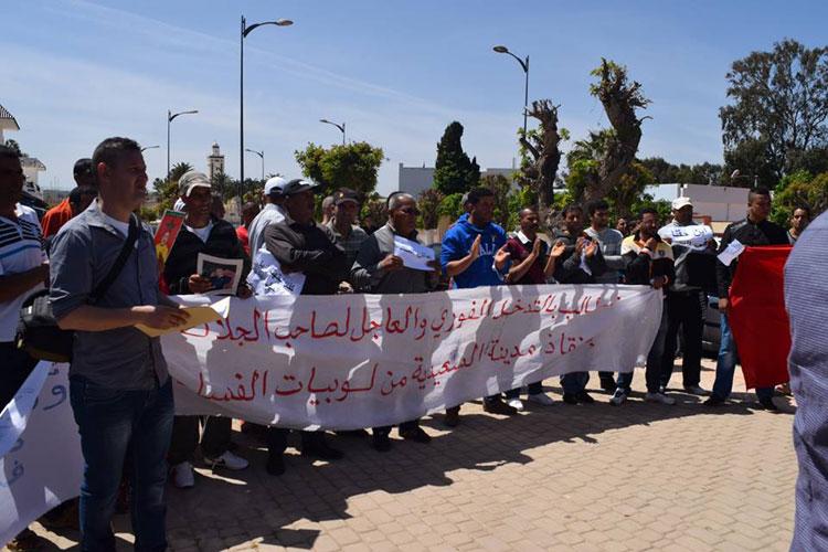 عودة الاحتجاجات أمام ولاية جهة طنجة بسبب «لوبيات العقار»