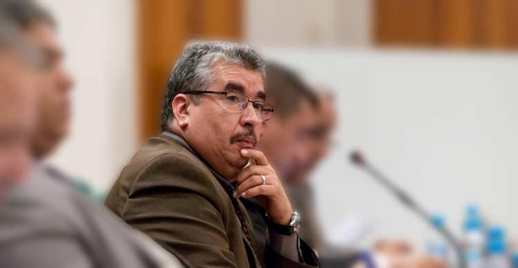 «قربالة» في اجتماع لجنة مالية مجلس الرباط حول اقتناء 14 سيارة جديدة