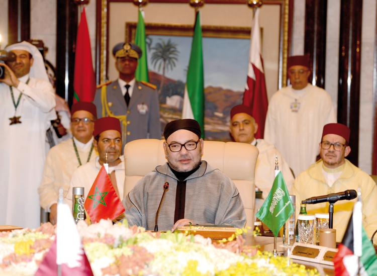 خطاب الملك محمد السادس أحدث رجة قبل انعقاد القمة الخليجية الأمريكية